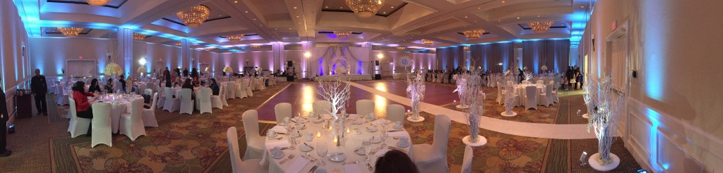 Michael Anthony Productions Up Lighting Grand Hyatt Tampa Bay